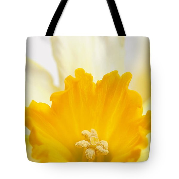Abstract Daffodil Tote Bag