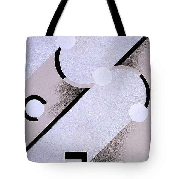 Abstract Design From Nouvelles Compositions Decoratives Tote Bag