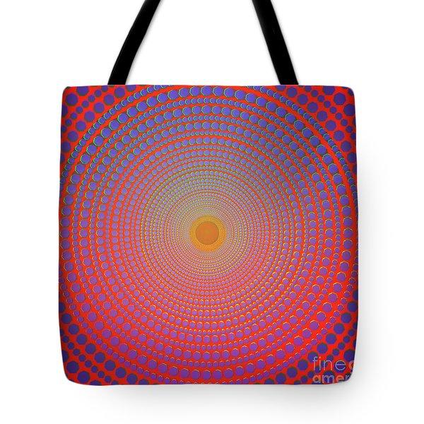 Abstract Dot Tote Bag