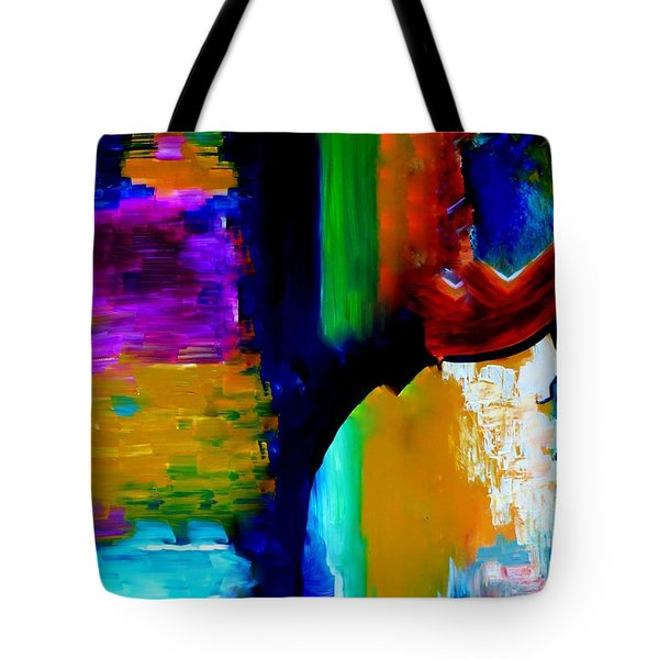 Abstract Du Colour Tote Bag by Lisa Kaiser