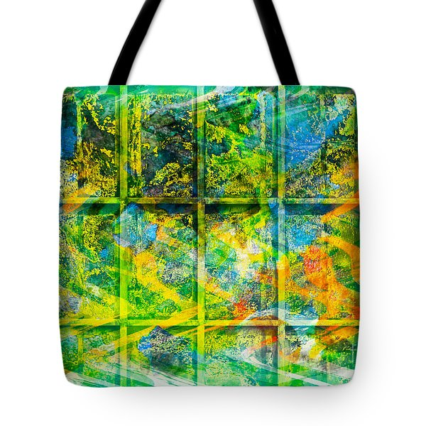 Abstract  - Emotion - Trapped Tote Bag by Barbara Griffin