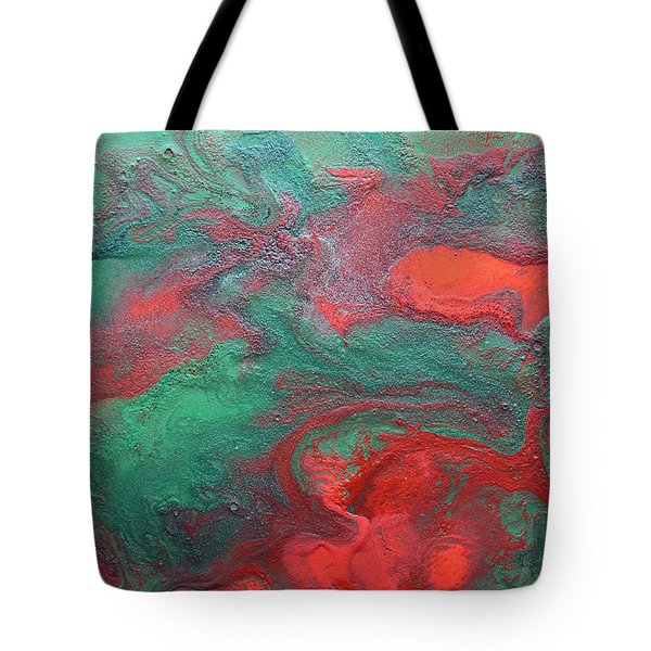 Abstract Evergreen Tote Bag