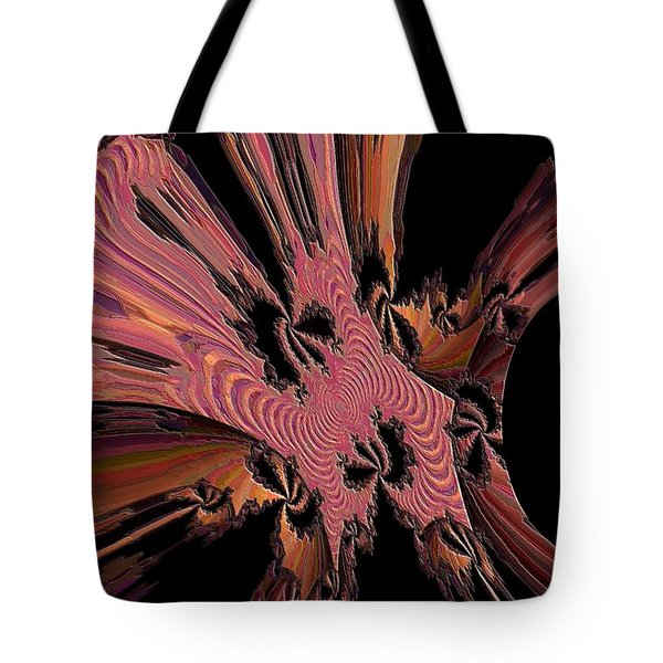 Abstract Explosion Tote Bag by Jeff Swan