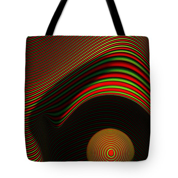 Abstract Eye Tote Bag