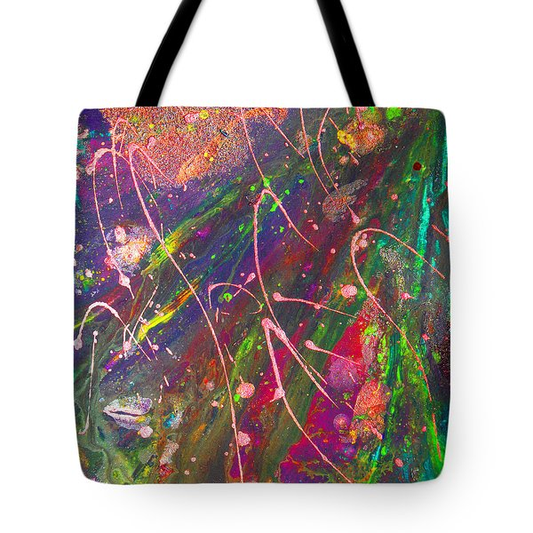 Abstract Fairy Night Lights Tote Bag