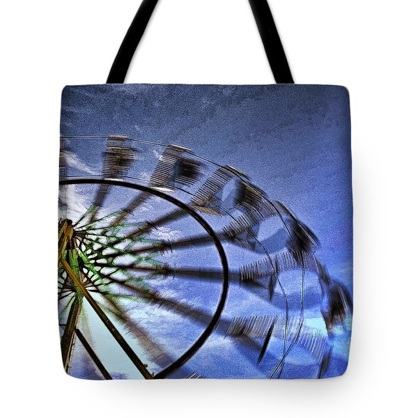 Abstract Ferris Wheel Tote Bag