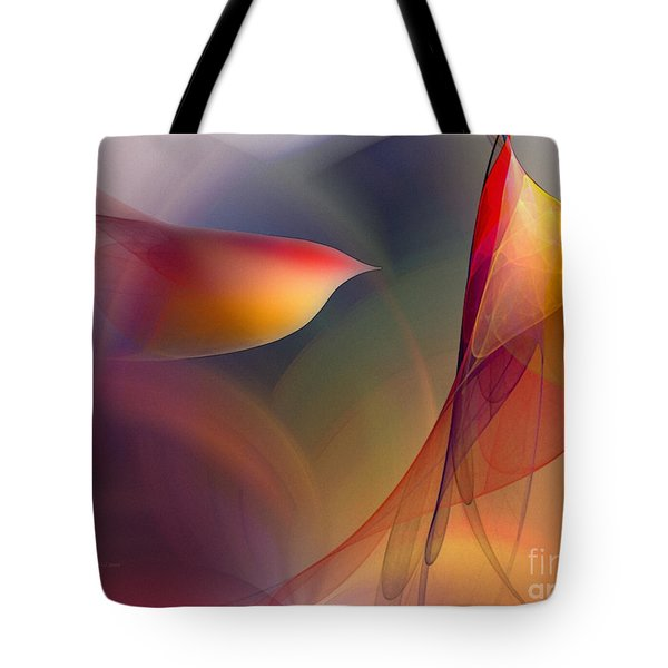 Abstract Fine Art Print Early In The Morning Tote Bag