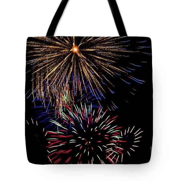 Abstract Firwoprks Tote Bag by Robert Bales