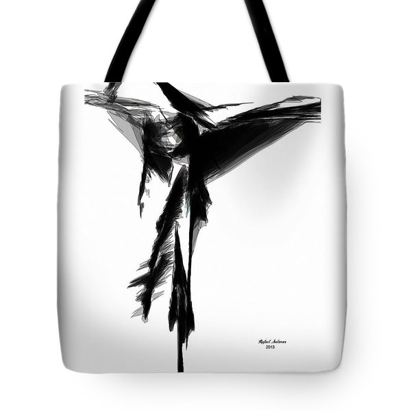 Abstract Flamenco Tote Bag
