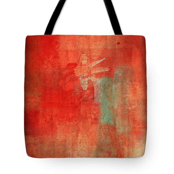 Abstract Floral - 50t12a Tote Bag by Variance Collections