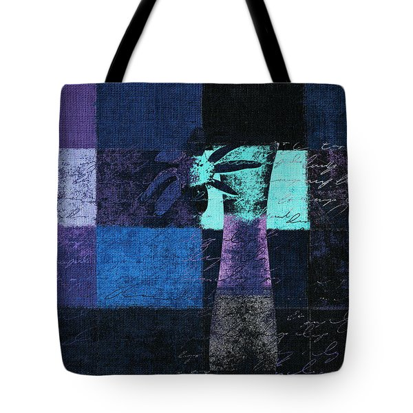 Abstract Floral - H15bt3 Tote Bag by Variance Collections