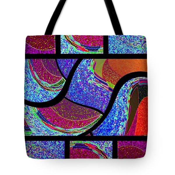 Abstract Fusion 168 Tote Bag by Will Borden