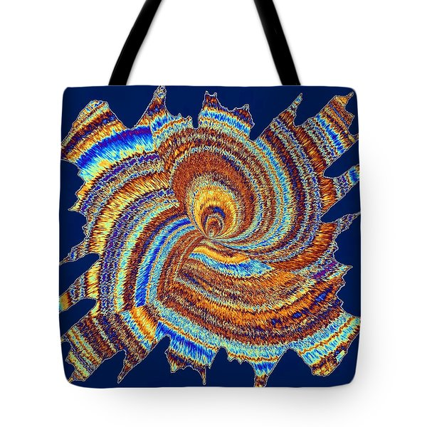 Abstract Fusion 176 Tote Bag by Will Borden