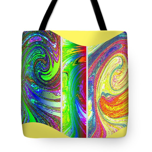 Abstract Fusion 188 Tote Bag by Will Borden