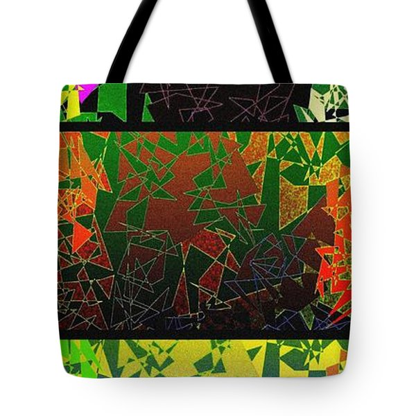 Abstract Fusion 193 Tote Bag by Will Borden