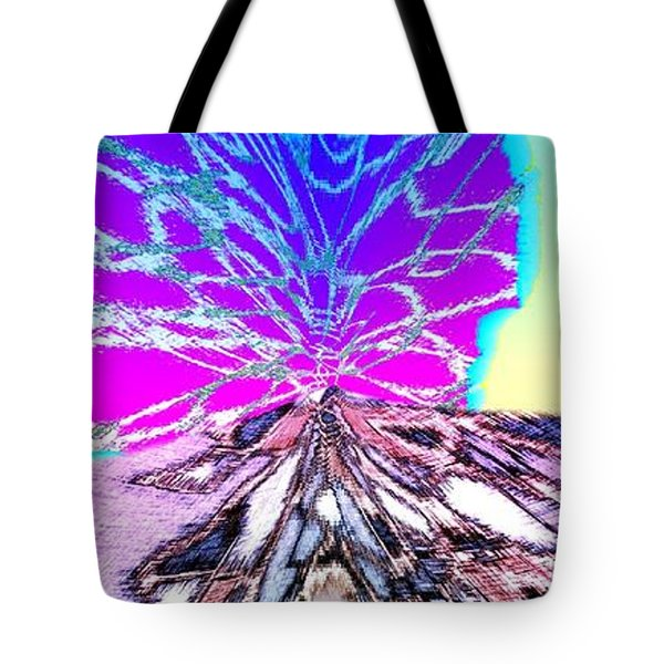 Abstract Fusion 196 Tote Bag by Will Borden
