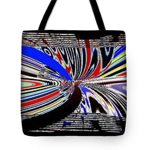 Abstract Fusion 197 Tote Bag