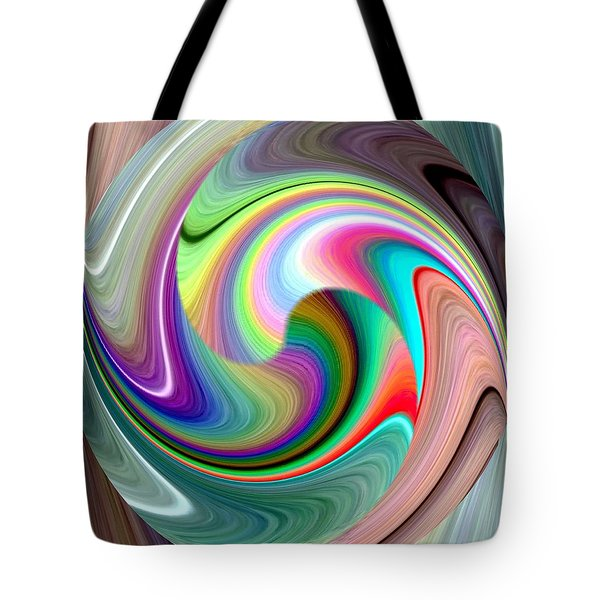 Abstract Fusion 241 Tote Bag