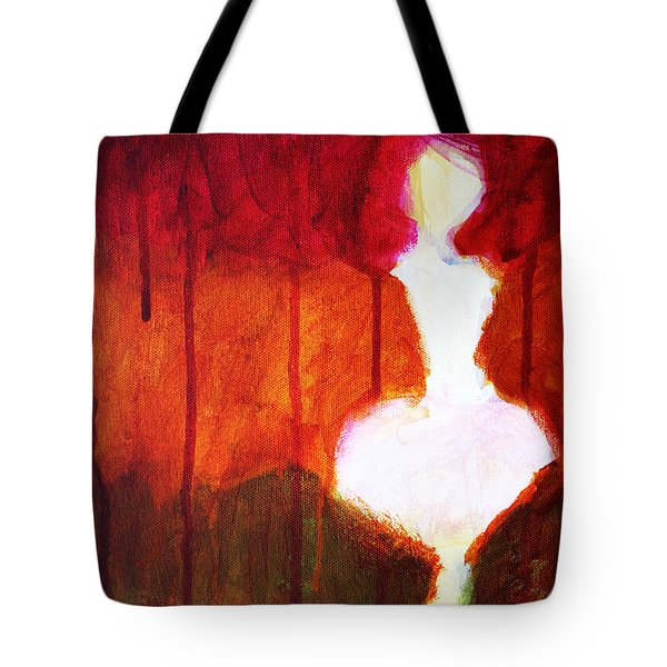 Abstract Ghost Figure No. 2 Tote Bag