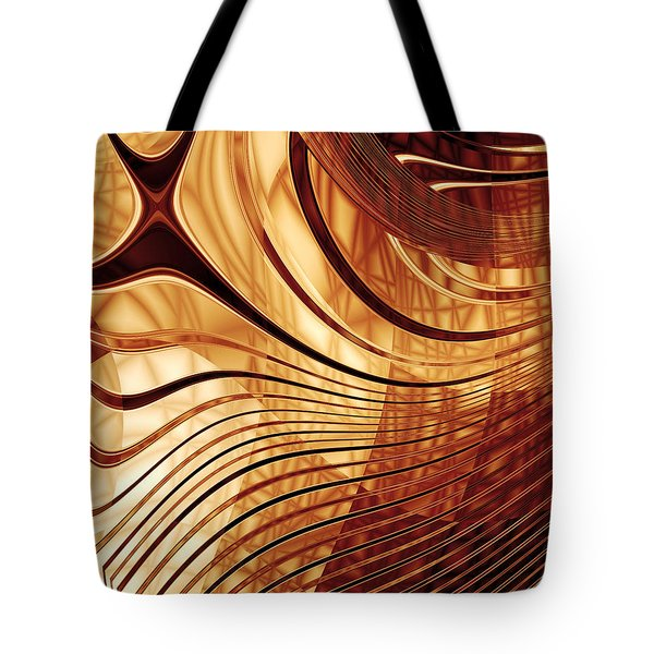 Abstract Gold 2 Tote Bag