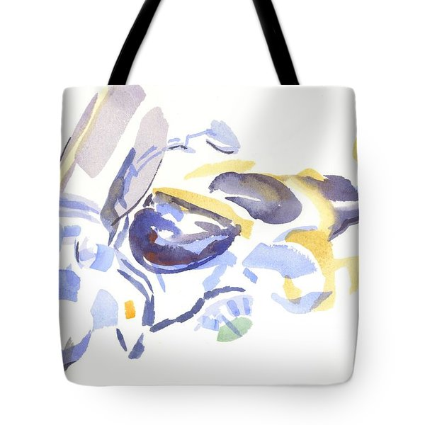 Abstract Motorcycle Tote Bag