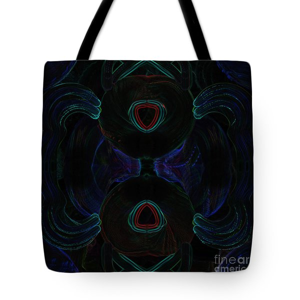 Abstract Hearts-4 Tote Bag