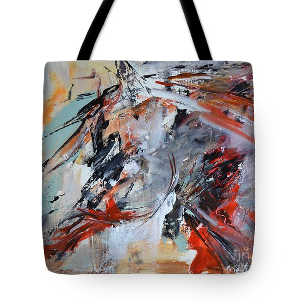 Abstract Horse 1 Tote Bag