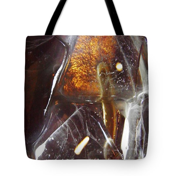 Abstract Ice 4 Tote Bag by Sarah Loft