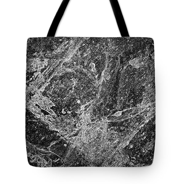 Abstract In B 'n' W 2 Tote Bag