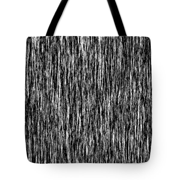 Abstract In B 'n' W Tote Bag