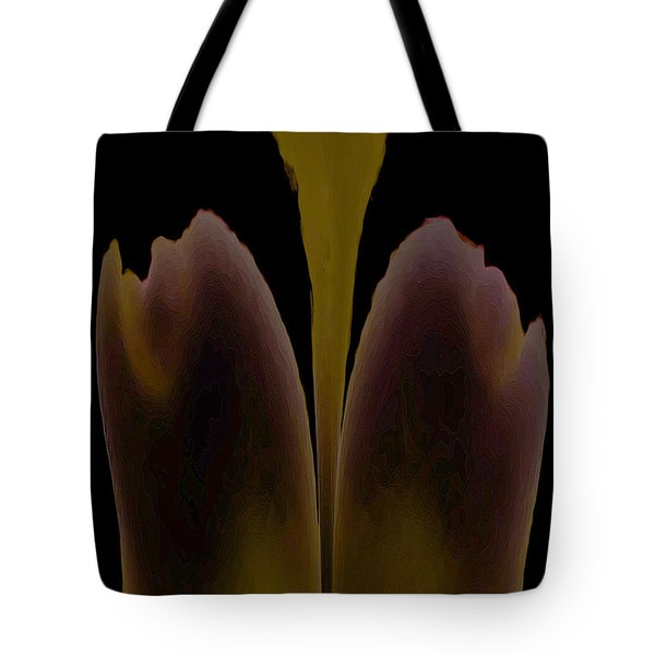 Abstract In Bloom Tote Bag
