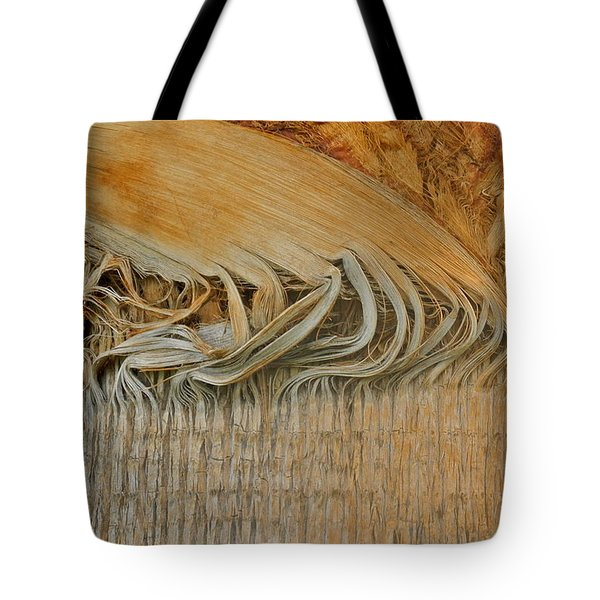 Abstract In Gold And Brown Tote Bag by Kirsten Giving