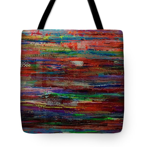 Abstract In Reflection Tote Bag