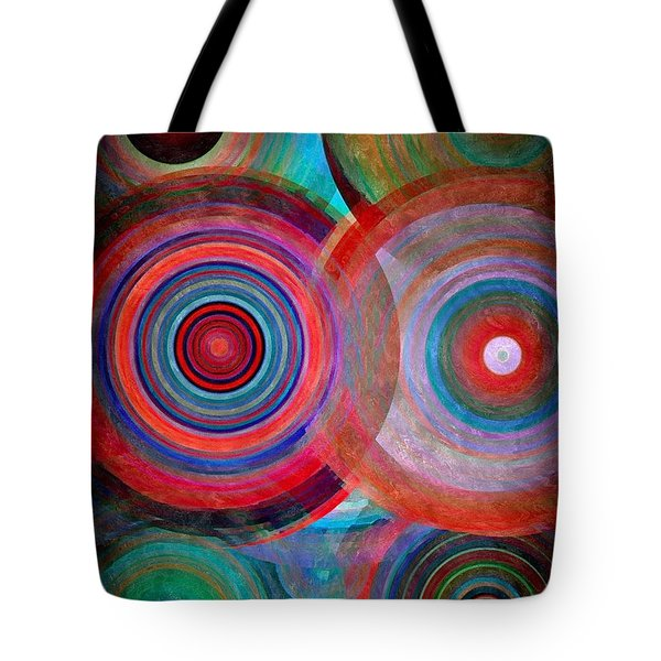 Abstract In Silk  Tote Bag