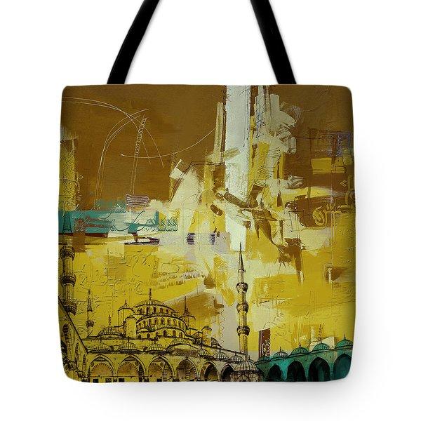 Abstract Islamic Art Tote Bag
