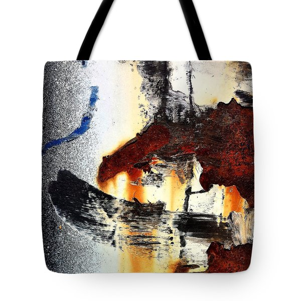 Abstract Post 2 Tote Bag
