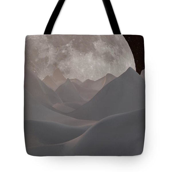 Abstract Landscape #3 Tote Bag by Wally Hampton