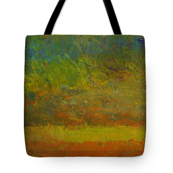 Abstract Landscape Series - Golden Dawn Tote Bag