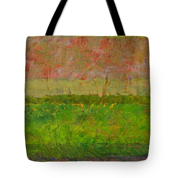 Abstract Landscape Series - Summer Fields Tote Bag