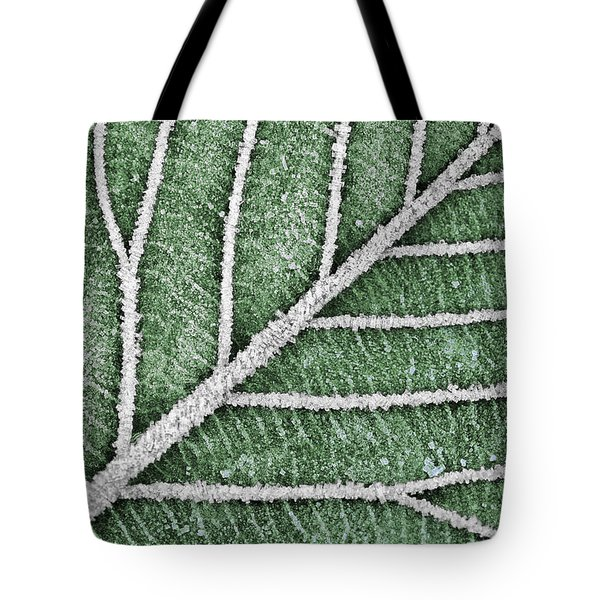 Abstract Leaf Art Tote Bag