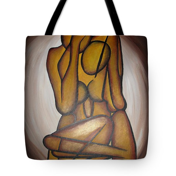 Abstract Lovers Tote Bag