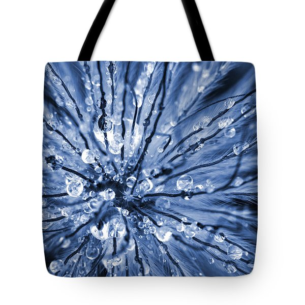 Abstract Macro Flower Head Tote Bag