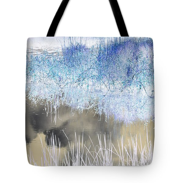 Abstract Marsh  Tote Bag