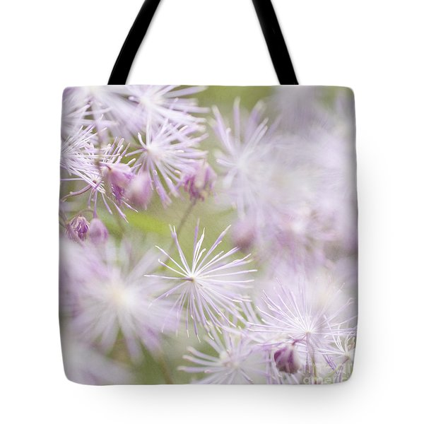 Abstract Nature Pink Burst Tote Bag by Circe Lucas