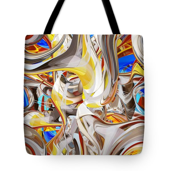Carousel - 018 Tote Bag by rd Erickson