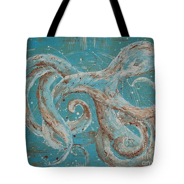 Abstract Octopus Tote Bag