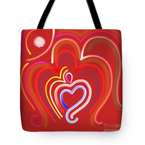 Abstract Om-8 Tote Bag
