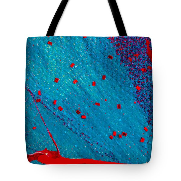 Abstract Original Artwork One Hundred Phoenixes Untitled Number Eleven Tote Bag