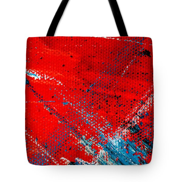 Abstract Original Artwork One Hundred Phoenixes Untitled Number Five Tote Bag