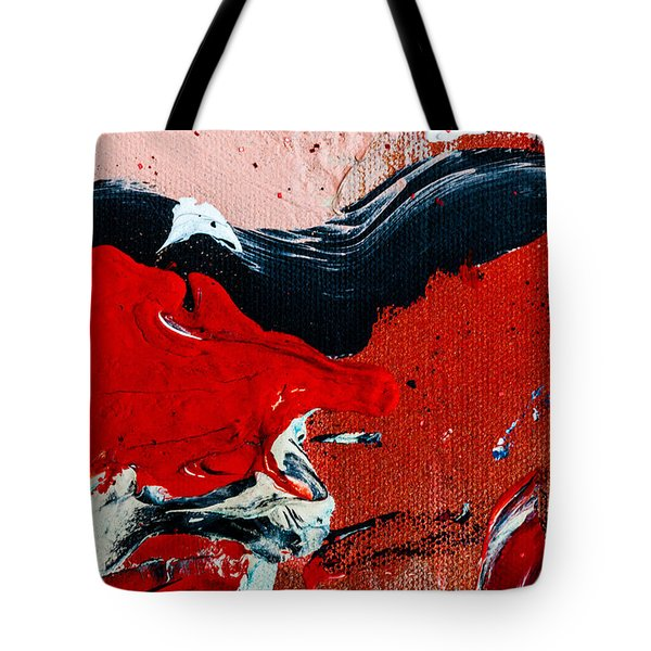 Abstract Original Artwork One Hundred Phoenixes Untitled Number Four Tote Bag